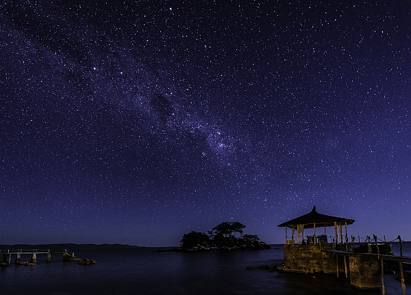 Kaya Mawa (Lake Malawi) - clear skies and so many stars
