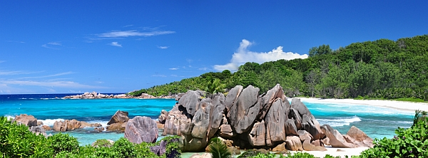 Seychelles beautiful beaches