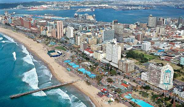 Durban is in the Kwa-Zulu Natal province of South Africa