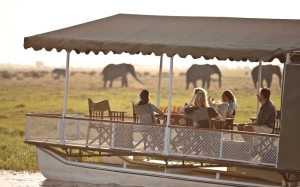 Chobe under Canvas - boat cruise on Chobe River