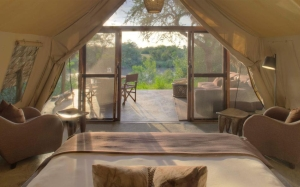 Grumeti Serengeti Tented Camp - tent interior