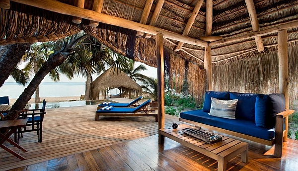 andBeyond Benguerra Cabana living space