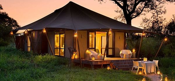 Ngala Tented Camp romantic accommodation