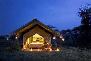 Tanzania Under Canvas - romantic tent in Serengeti