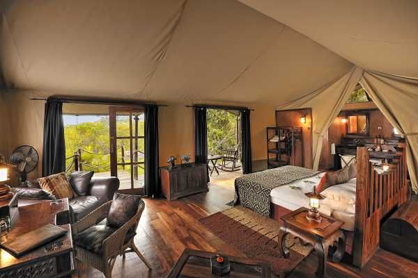 Serengeti Migration Camp - luxury Tented camp
