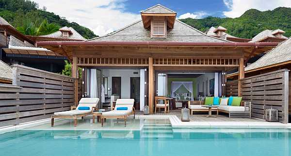 Hilton Seychelles Northolme Resort and Spa - Grand Oceanview Pool Villa View