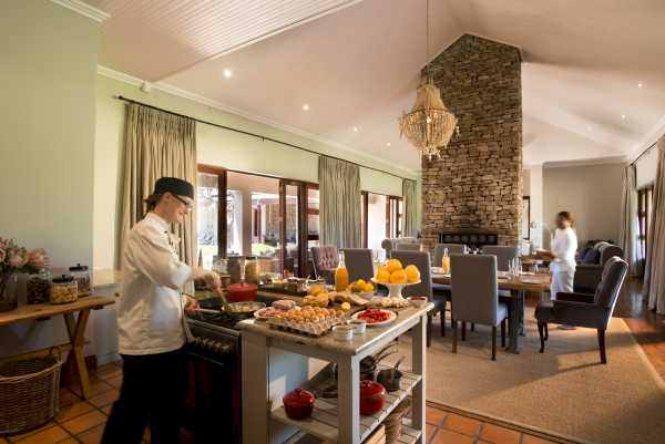 Kwandwe Melton Manor - private chef to cater to your needs