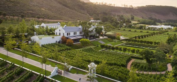 Leeu Estates wine farm
