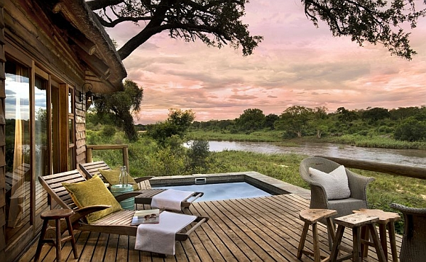 Lion Sands Narina Lodge Suite private plunge pool