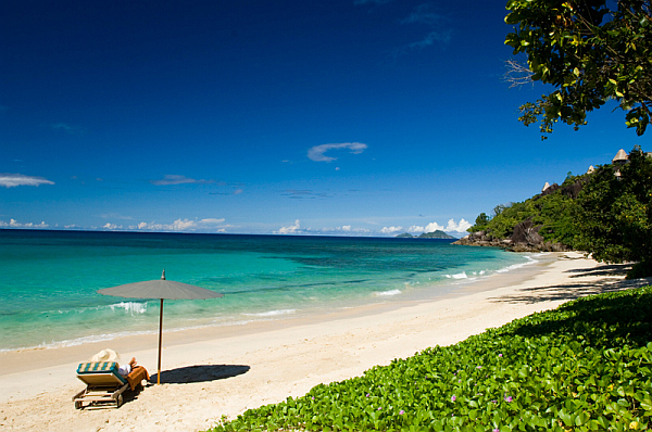 Anse Louis Beach at Maia Luxury Resort and Spa