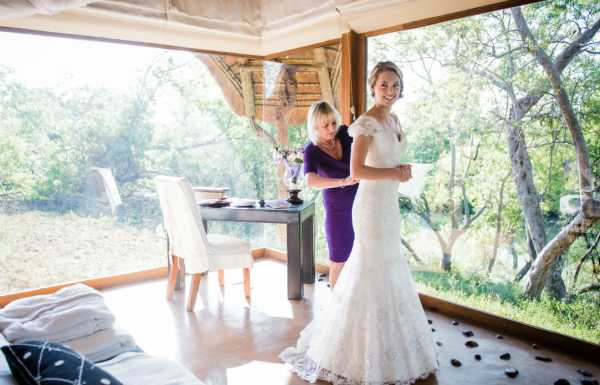 Makanyane Safari Lodge bride