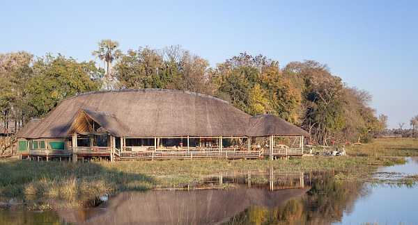 Moremi Crossing in Okavango Delta
