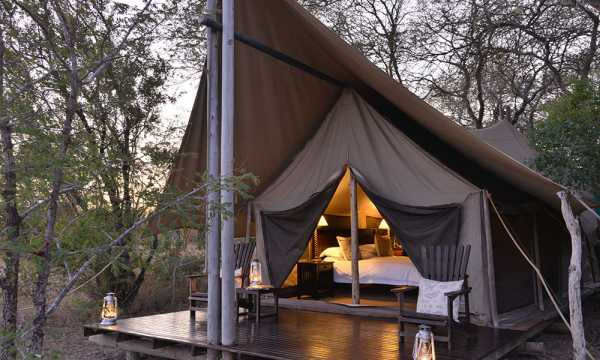 Plains Camp luxury tented accommodation