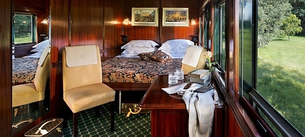 Rovos Rail - luxury train Deluxe Suite accommodation