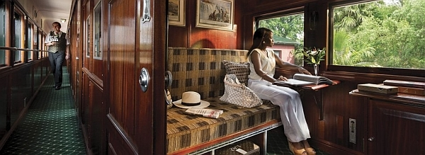 Rovos Rail - luxury train Pullman Suites accommodation