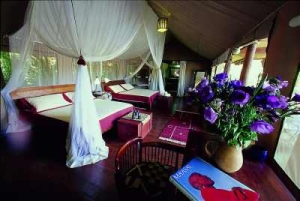 Sanctuary Olonana tent interior